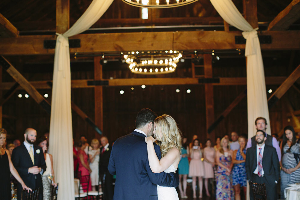 Styled Bride Wedding - Our couple dances to Elvis's