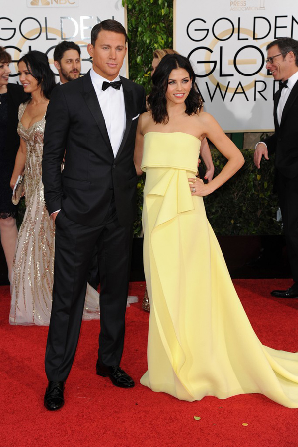 Channing Tatum & Jenna Dewan-Tatum: Women's Wear Daily