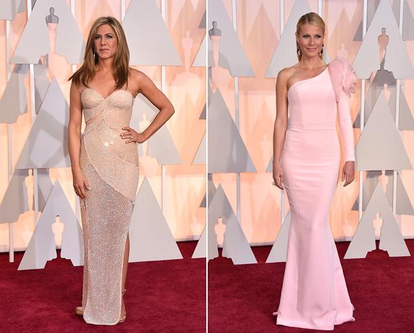 Jennifer Aniston, Gwyneth Paltrow via E! Online