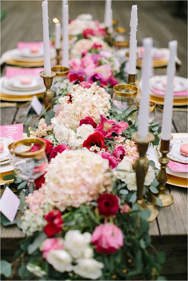 Table: Southern California Bride