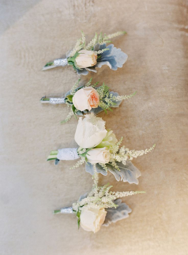 Boutonnieres: Style Me Pretty