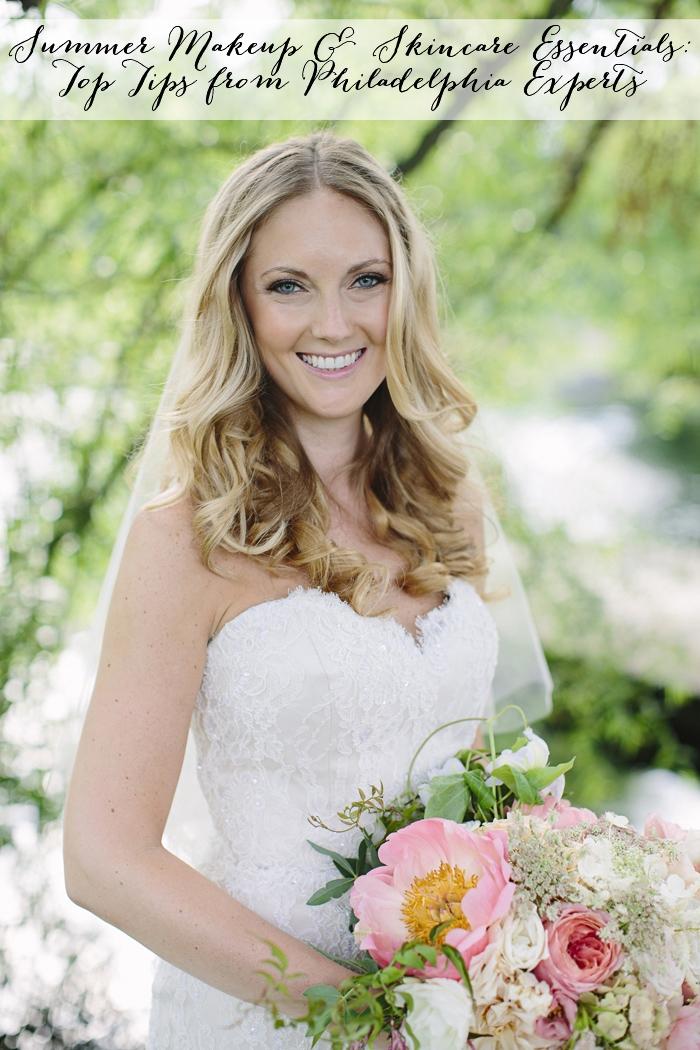 Styled Bride summer wedding. Makeup: CheekadeePhoto: BrookeCourtney