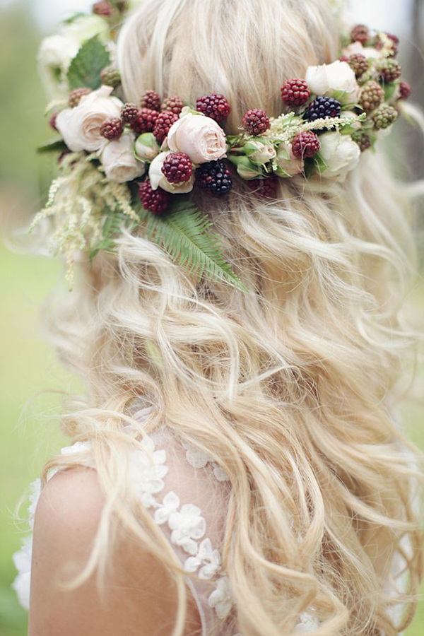 Floral Crown: Brit + Co