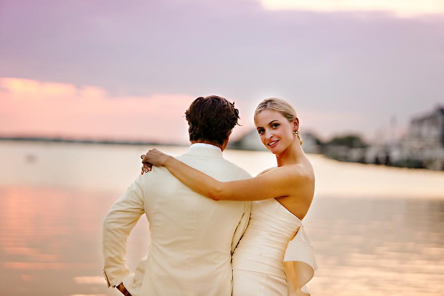 Kara & Boo's Shore Wedding - photo by Art of Love /Marie Labbancz