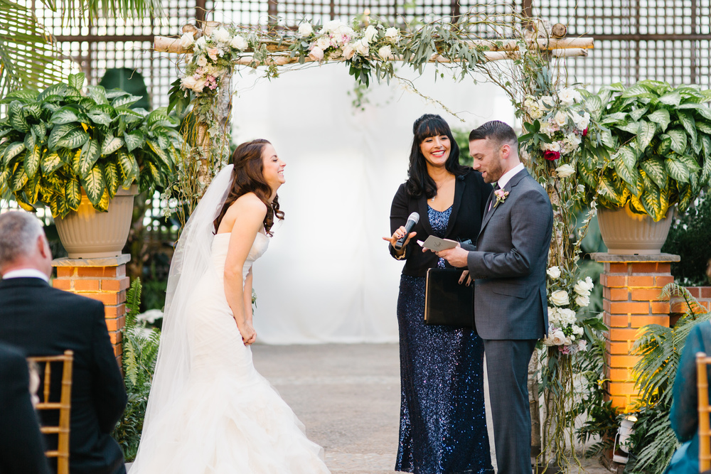 Styled Bride with Alisa at the Horticultural Center  / Photo- Becka Pillmore Photography