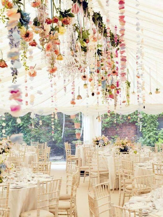 The_Styled_Bride_Wedding_Tent_Flowers