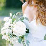 white palette inspiration styled bride