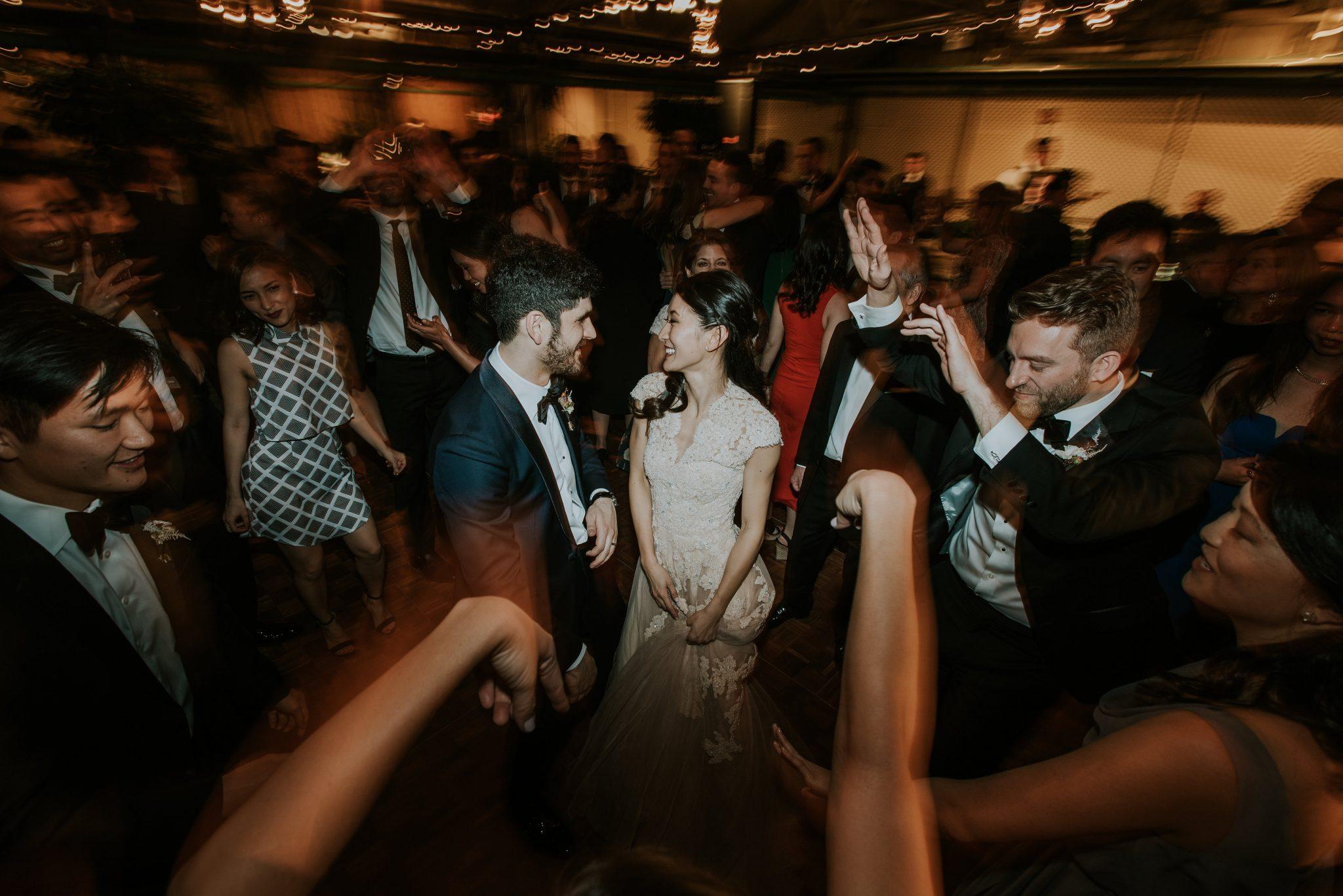 Dance Floor Bride and Groom