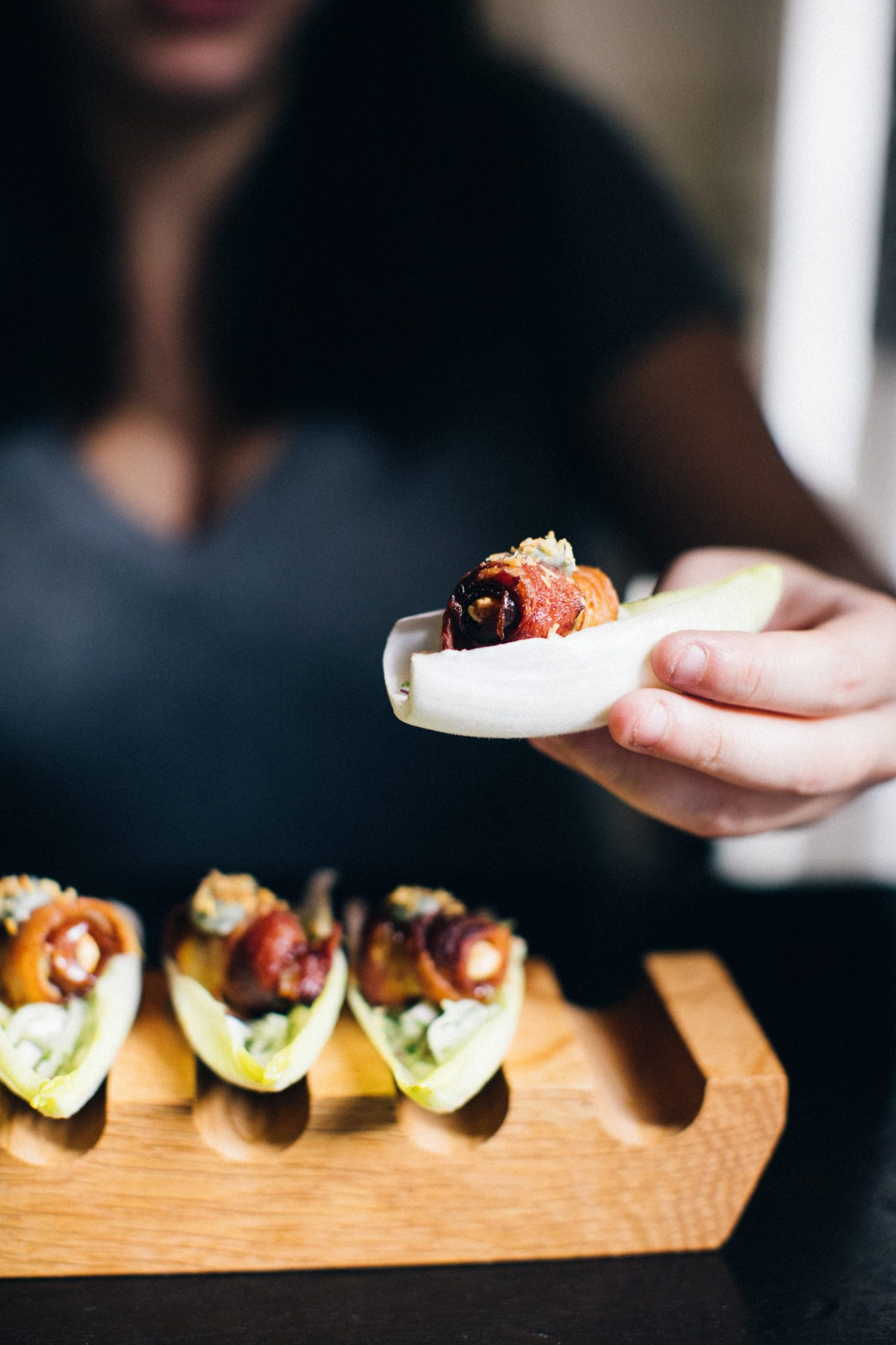 Starr Restaurants whips up some of the best appetizers for rehearsal dinners! | www.TheStyledBride.com