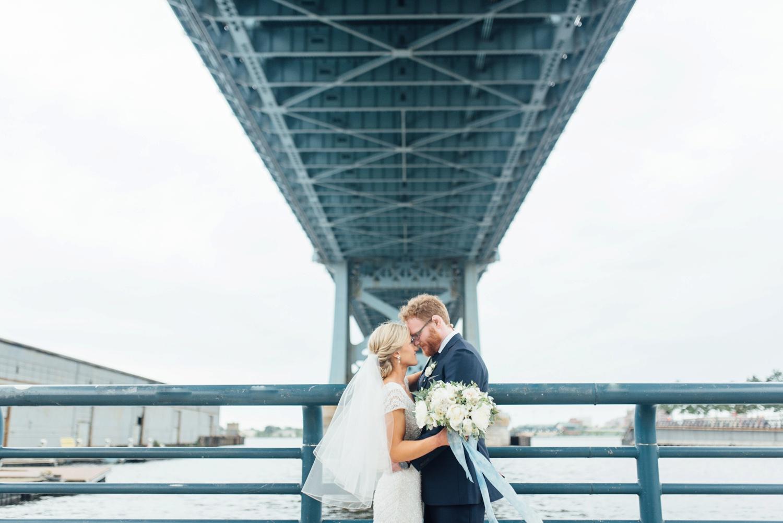 Modern Philadelphia Wedding at La Peg   www.thestyledbride.com