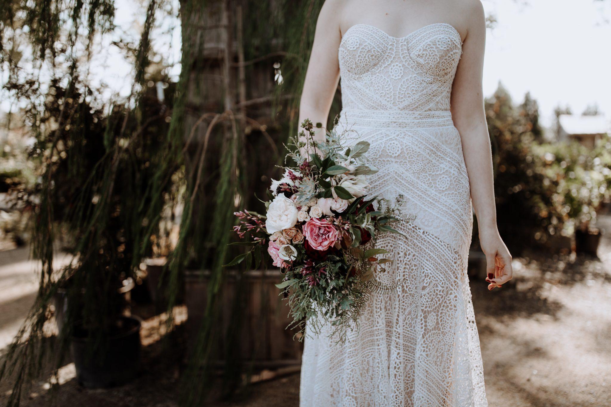 Romantic Terrain Garden Wedding | www.thestyledbride.com