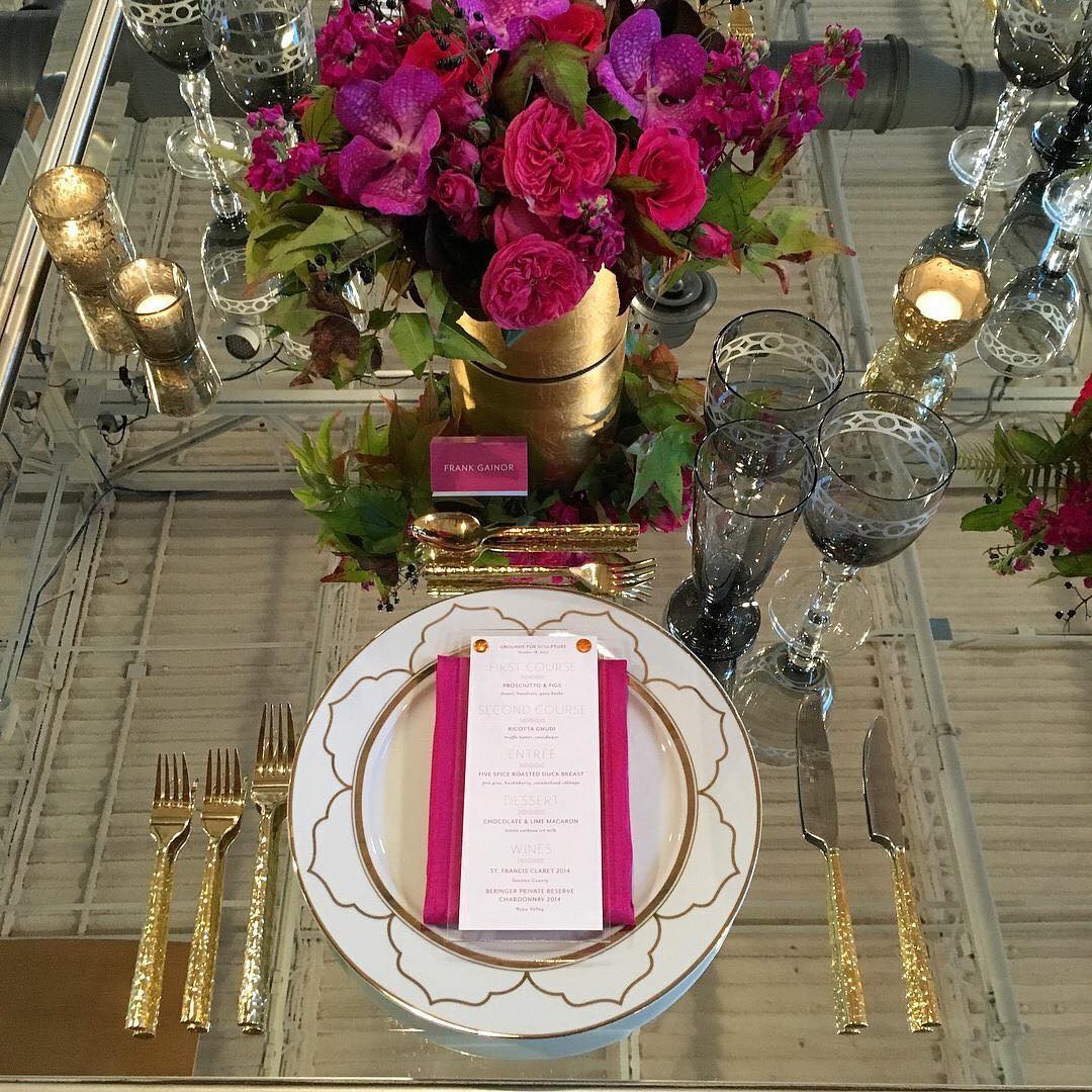 Grounds for Sculpture Wedding with Starr Restaurants | www.thestyledbride.com