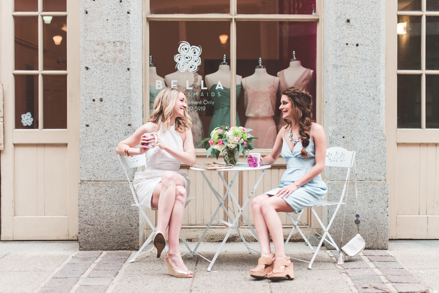 Bridesmaid Dress Shops in Philadelphia | www.thestyledbride.com