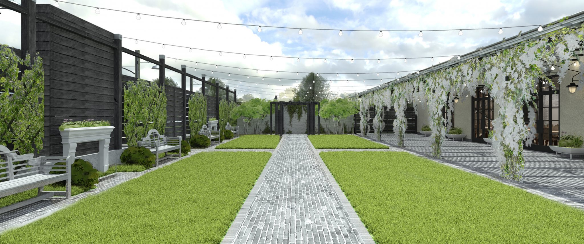 Terrain Gardens Ceremony Space | www.thestyledbride.com