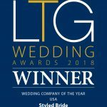 LTG Wedding Award Winner 2018 | The Styled Bride