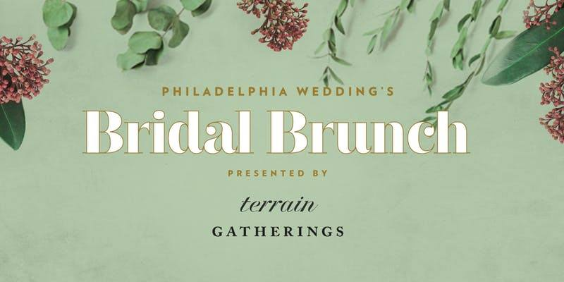 Philadelphia Wedding Magazine Bridal Brunch at Terrain Gardens Devon | www.thestyledbride.com