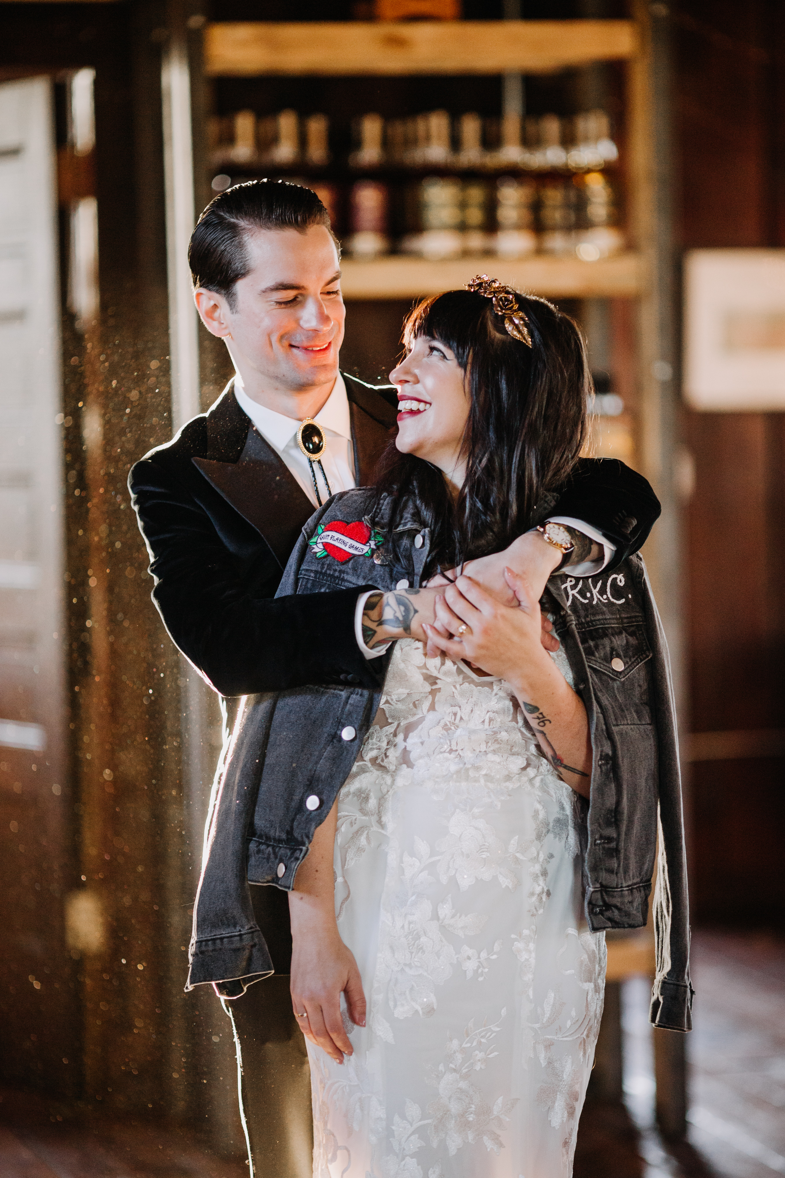 Whimsical New Liberty Distillery Wedding Planned by The Styled Bride | www.thestyledbride.com