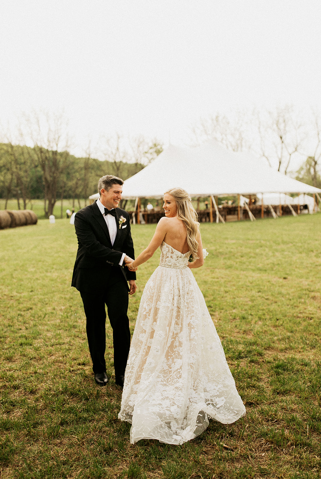 Tented Wedding at Home in Stockton, New Jersey | www.thestyledbride.com