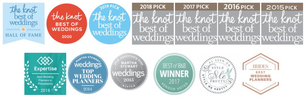Philadelphia Wedding Planner | Awards | The Styled Bride
