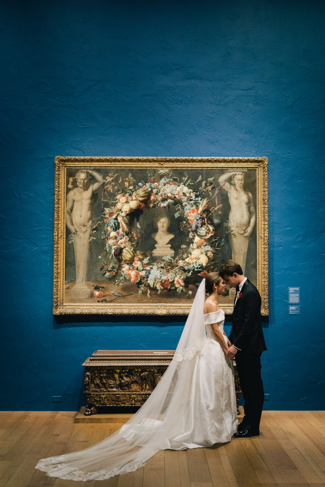 Elizabeth and Jake's Fall Wedding at the Philadelphia Art Museum | www.thestyledbride.com
