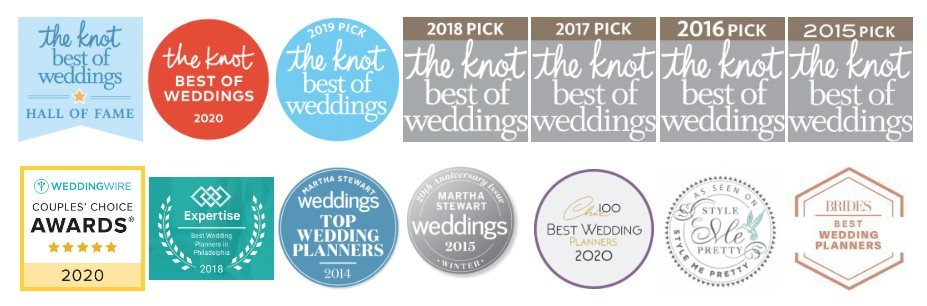 Philadelphia Wedding Planner | Awards | The Styled Bride