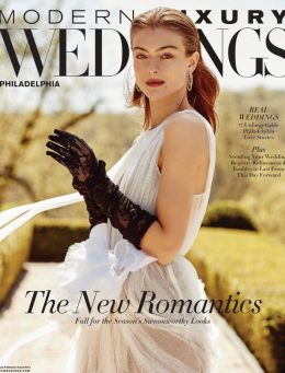 Modern Luxury Weddings Philadelphia | June 2020 Cover | The Styled Bride