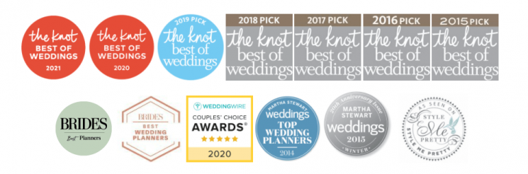 Philadelphia Wedding Planner - Awards Won by The Styled Bride 2020