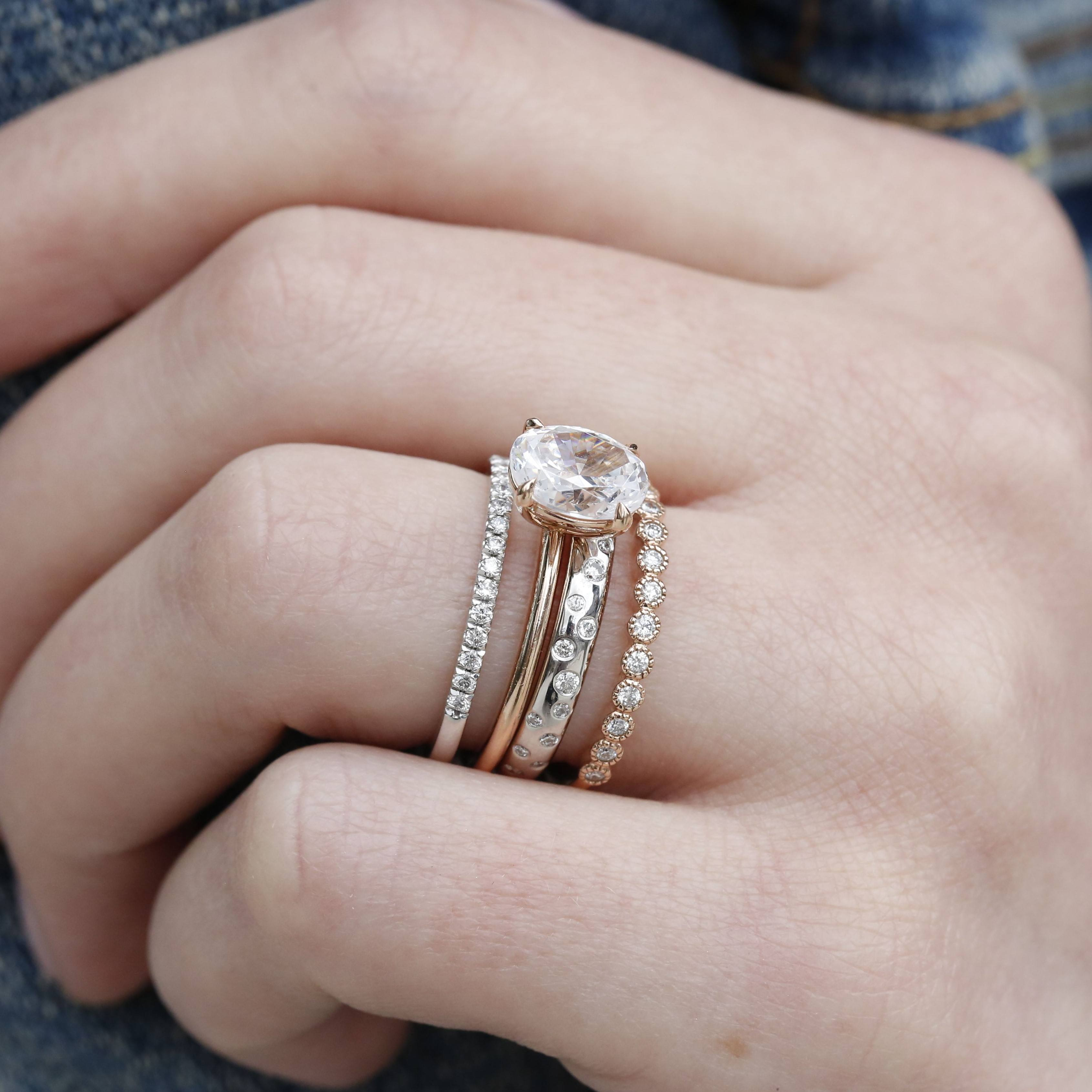 How to Choose Your Wedding Bands with L. Priori Jewelry | www.thestyledbride.com