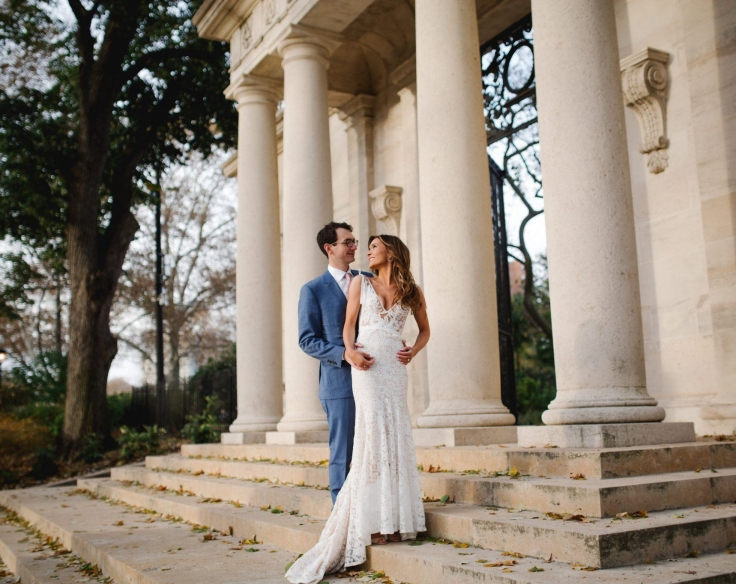 Julia And Evan The Barnes Foundation Wedding