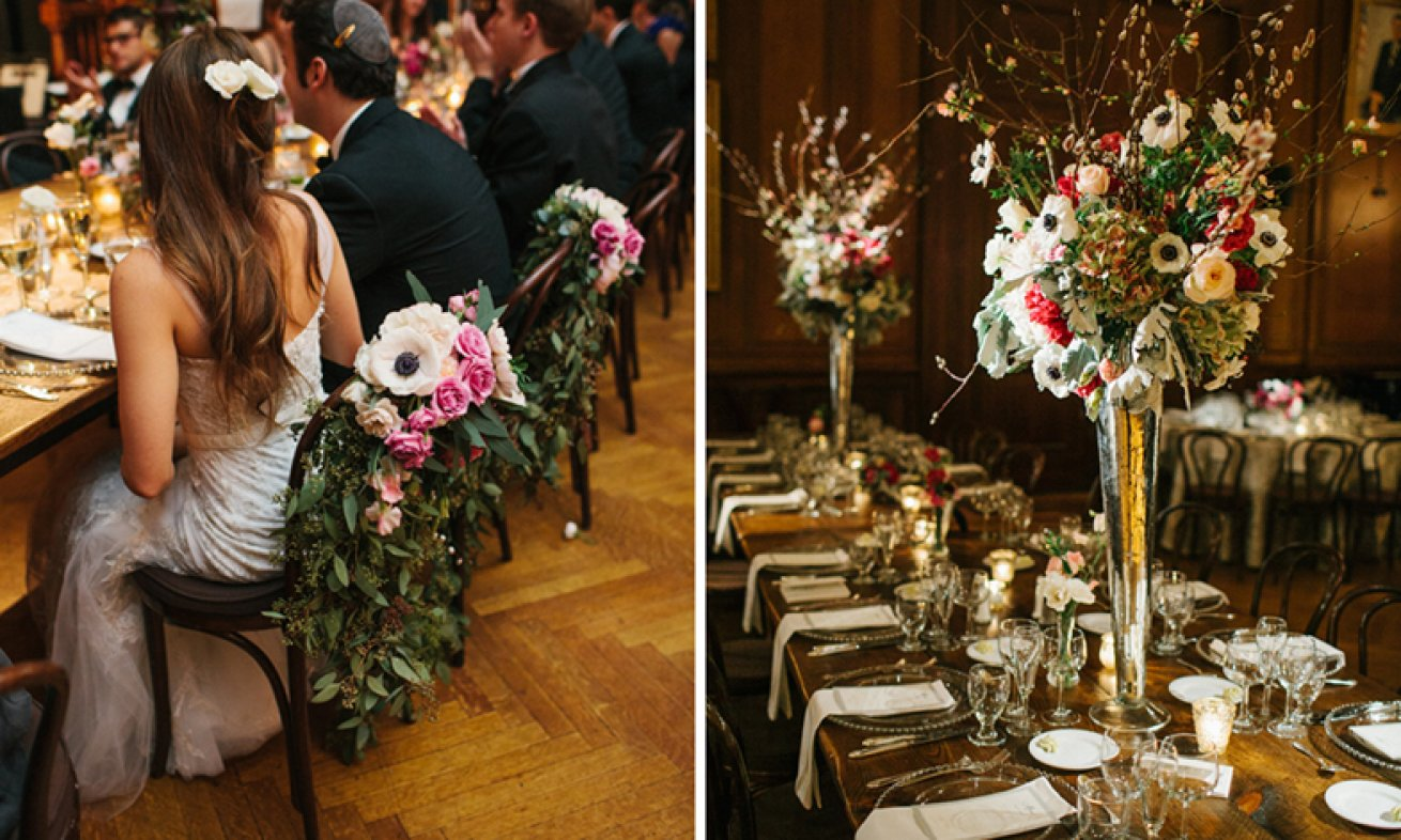 Union League Wedding tables