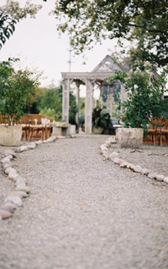 terrain wedding path