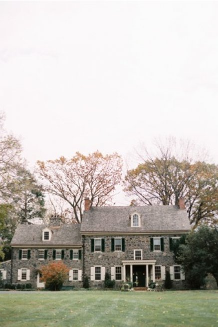 sweetwater farm fall wedding house