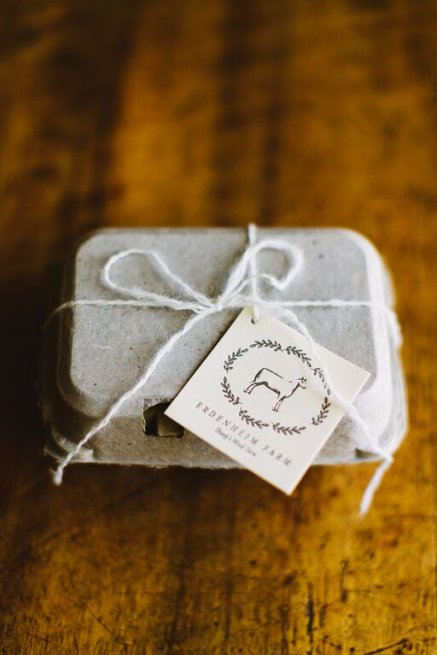 packaging farm to table wedding