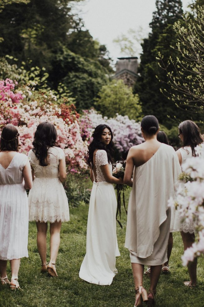 Julia and Bridesmaids